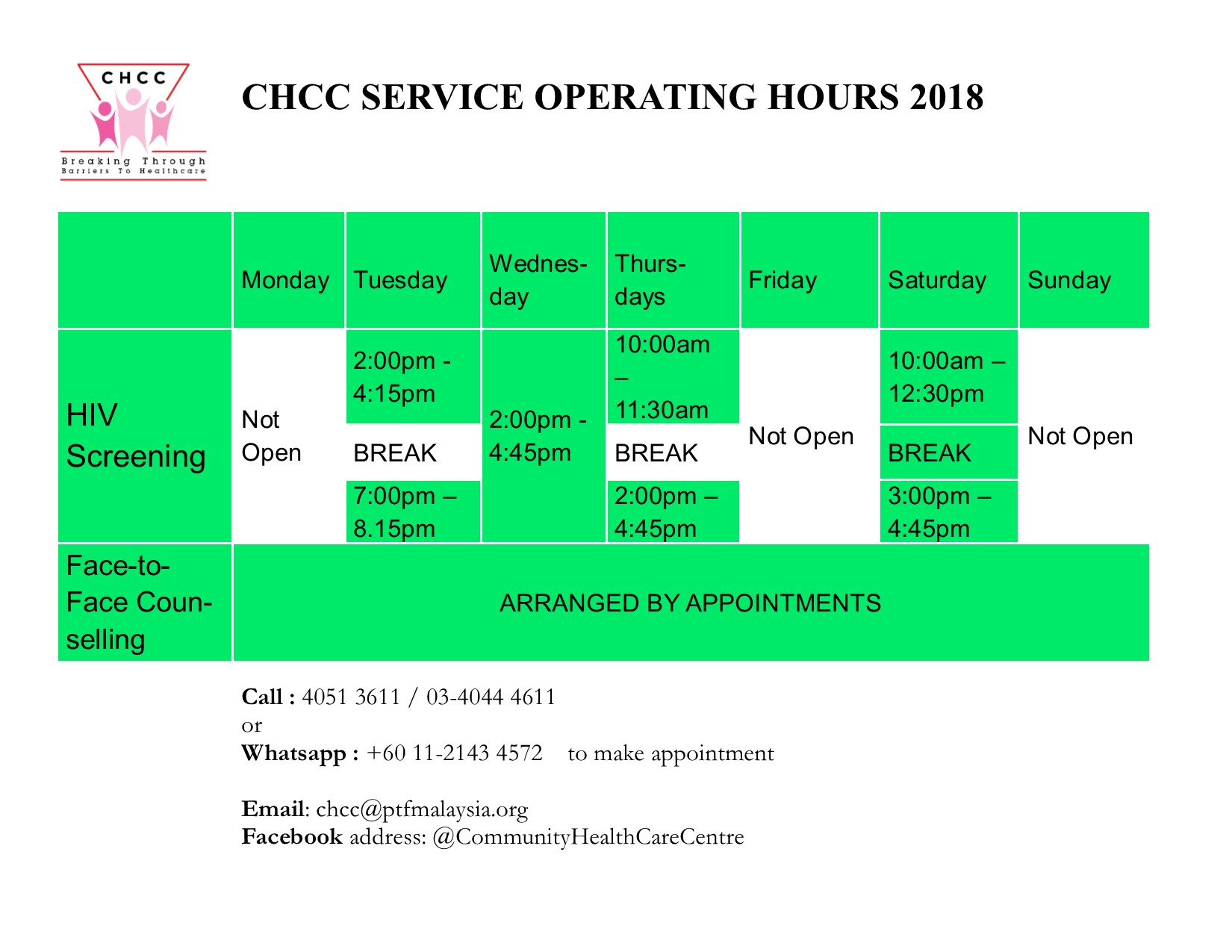 CHCC SERVICE OPERATION HOURS 2018 LNDSCP 1